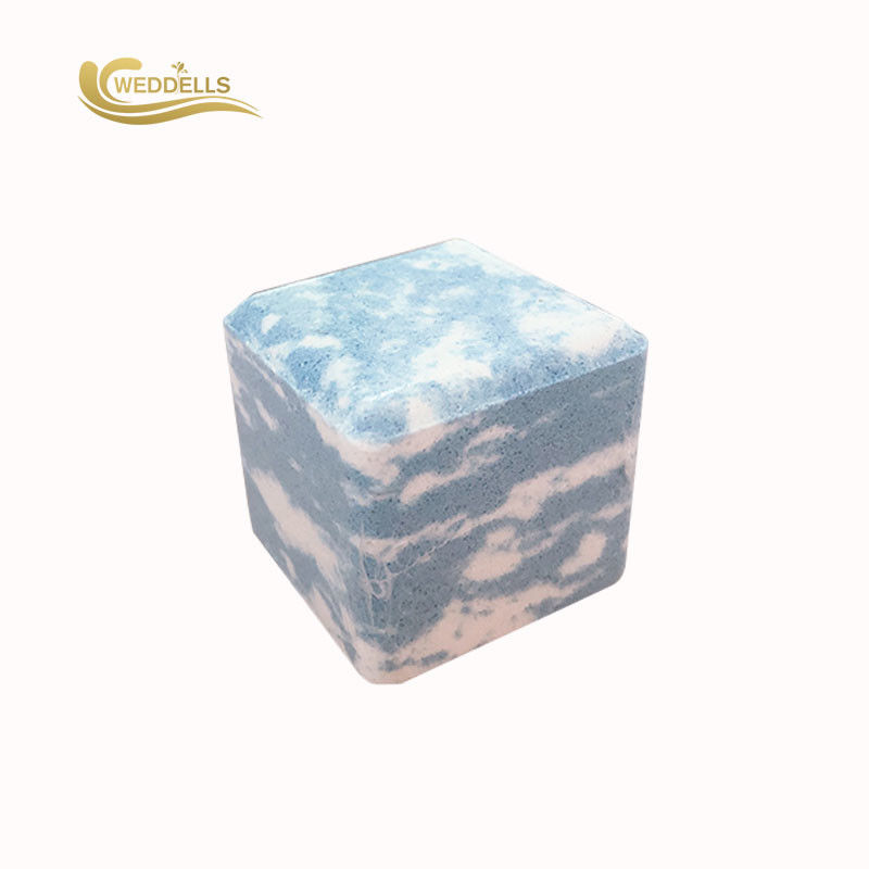 Cube Essential Oil Eucalyptus Shower Bomb , Shower Steamer Tabs OEM Available